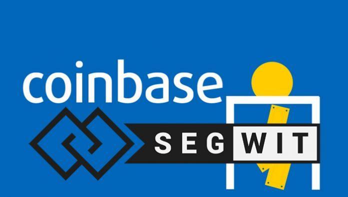 Криптовалютная биржа Coinbase интегрирует SegWit