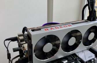 Видеокарта AMD VII в майнинге